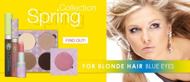 Spring Blonde with PANDORA'S Makeup Box