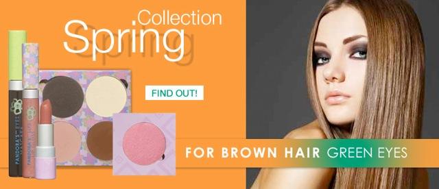 Spring Auburn/Brown with PANDORA'S Makeup Box