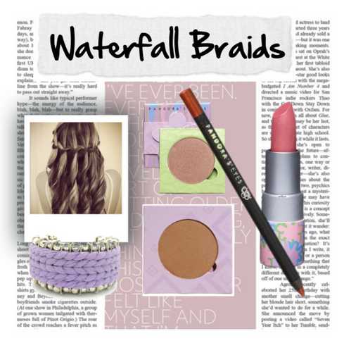Waterfall Braid Makeup Match