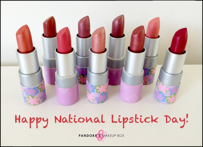 National Lipstick Day 2014