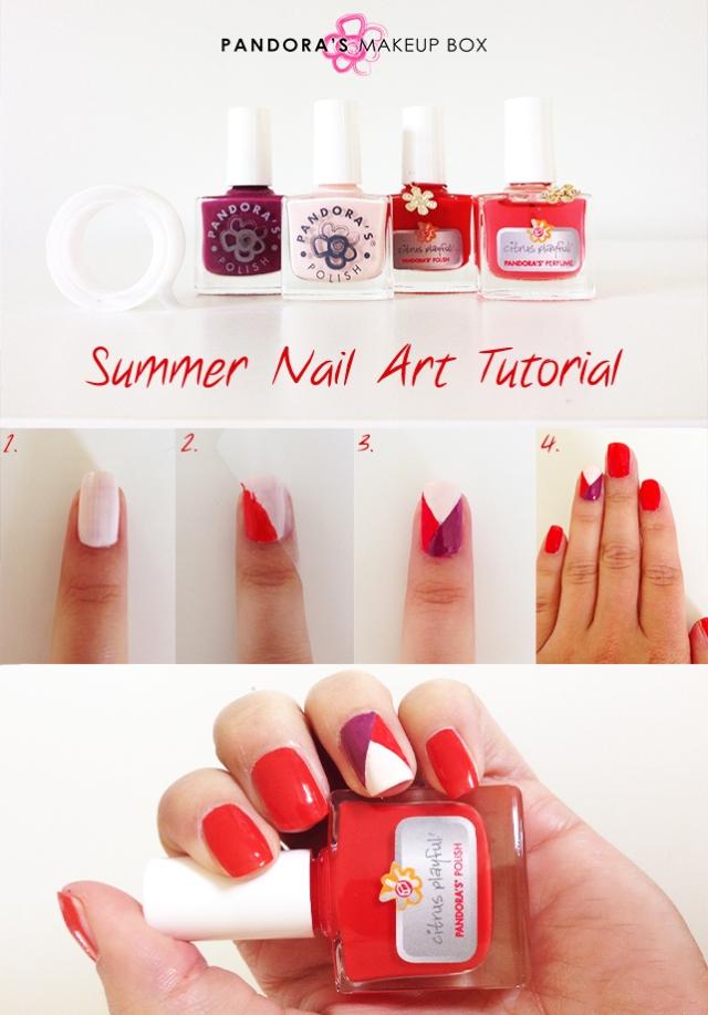 Summer Nail Art Tutorial